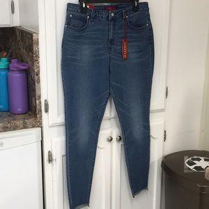 Jennifer Lopez high-rise skinny size 16 jeans NWT